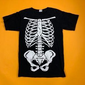 Super cool skeleton rib cage playboi carti tee